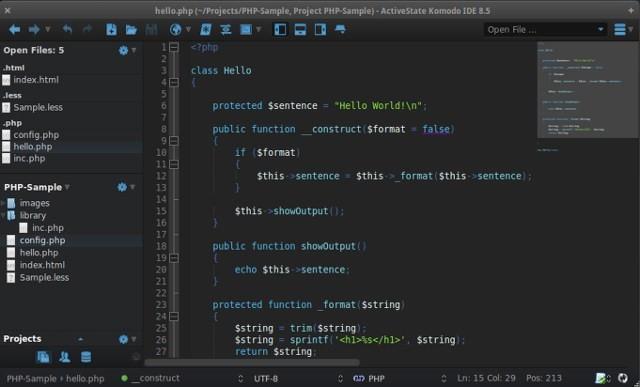 Notepad ++ Alternative for MAC - Komodo Edit