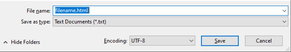 saving file in notepad++